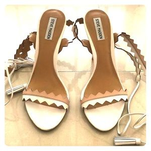 Steve madden strap heels size 10